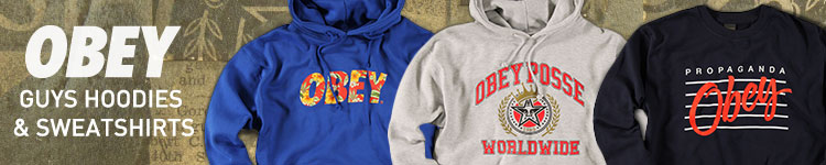 Guys Obey Sweatshirts & Hoodies