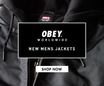 Mens Obey Jackets