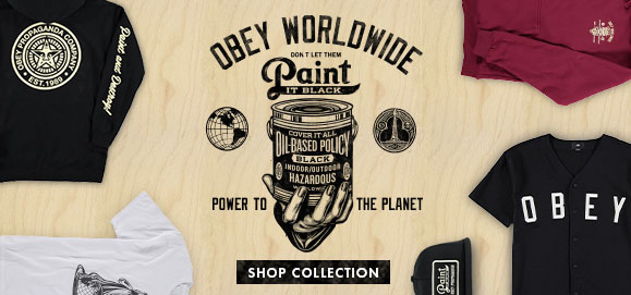Obey Paint it Black