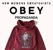 Obey womens swearshirts