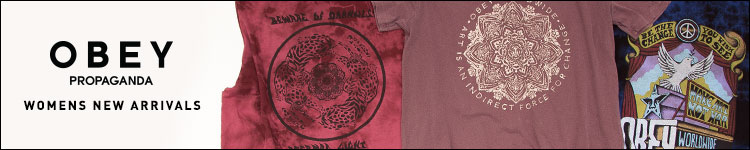 Womens Obey tees