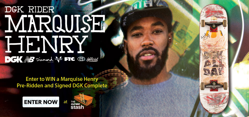Pro Rider - Skate - Marquise Henry