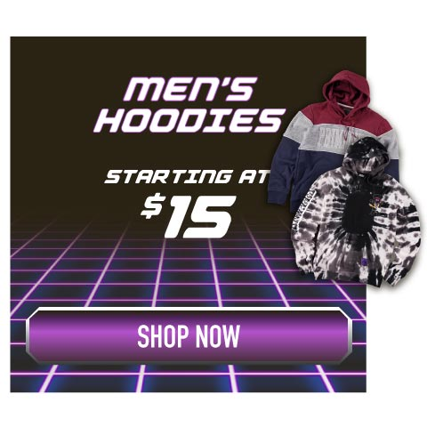 Men's Hoodies starting at $15