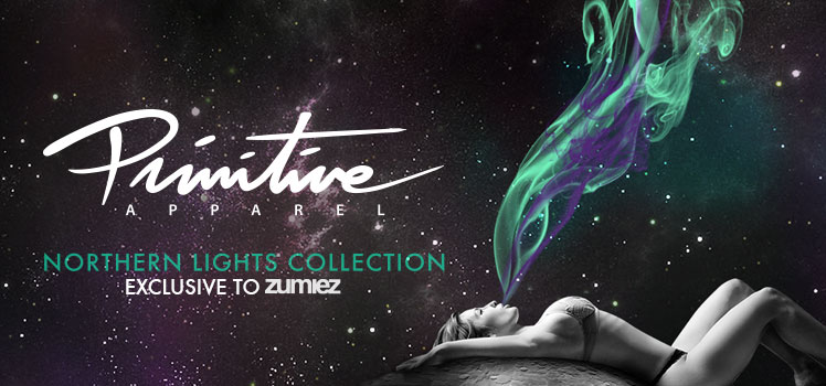 Northern Lights by Primitive exclusive Zumiez collection