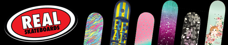 Real Skateboards. Roll Forever.