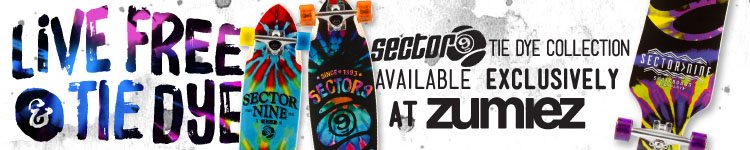 The Sector 9 Tie Dye Collection