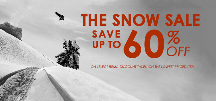 Snow Gear Sale