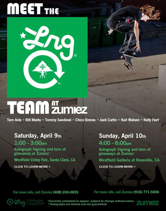 Meet the LRG Team at Zumiez
