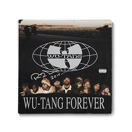 RZA Signed Wu-Tang Forever Album