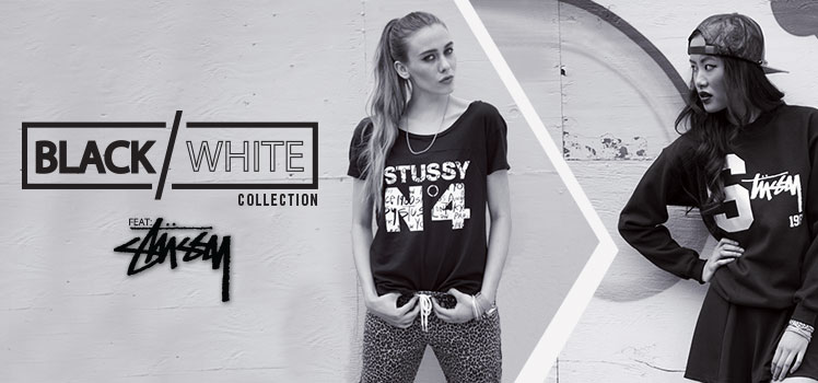 Womens Black and White Collection
