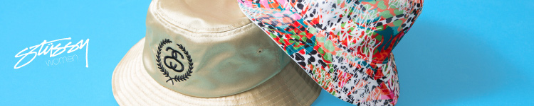 Stussy Womens bucket hats