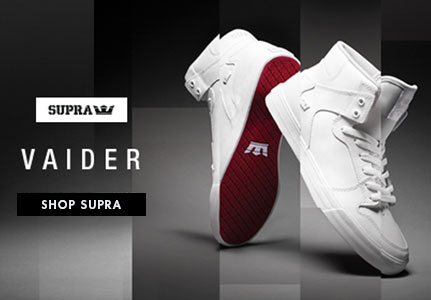 Supra Red Carpet Vaiders - high tops