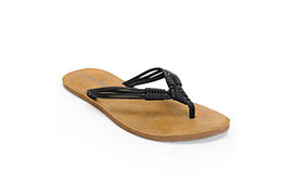 Volcom Women's Have Fun Black & Brown Sandals