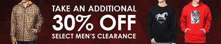 Men's Clearance Take an Additional 30 Percent Off
