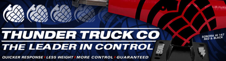 Thunder Trucks - Leader in Control