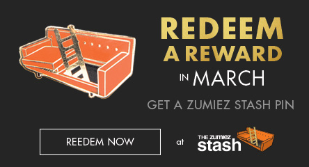 Redeem In March - Get a Zumiez Stash Pin!