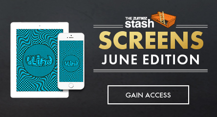 June Stash Screens - Blind