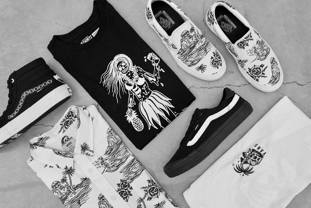 Vans x Sketchy Tank Collection
