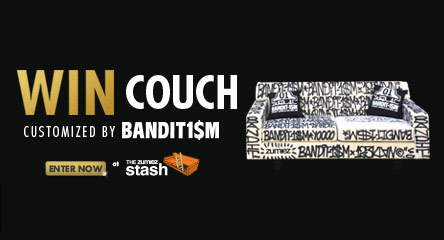 Win Couch Featuring Art by Bandit1$m