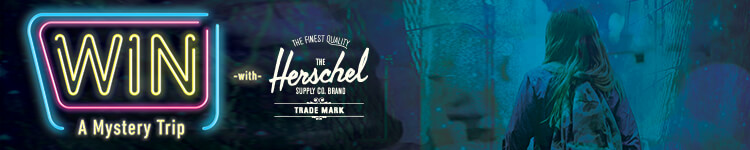 Win a Mystery Trip with Herschel Supply Co.