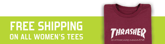 Free Shipping on All Womens Tees