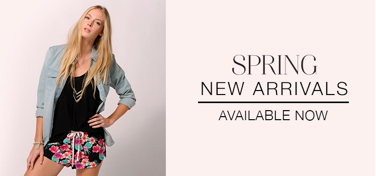 New Arrivals Spring Women