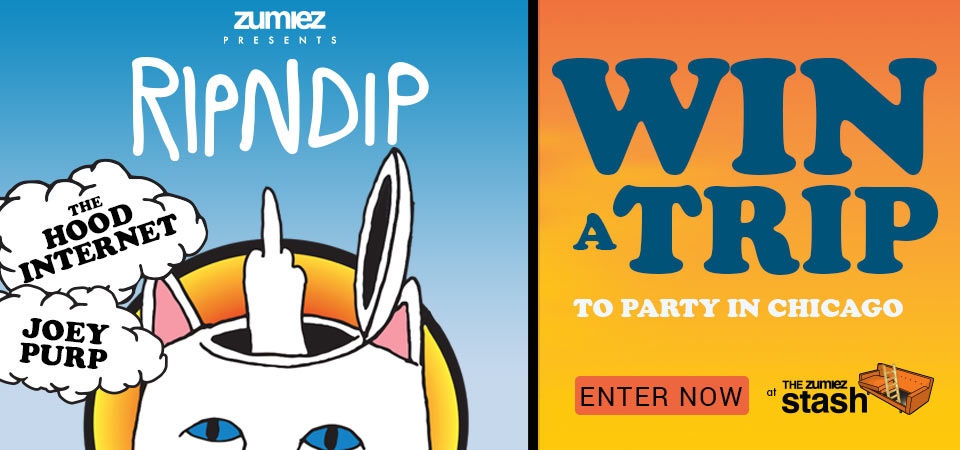 Enter to Win a Trip to Zumiez Presents: RIPNDIP