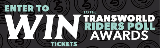 Transworld Snowboarding Awards
