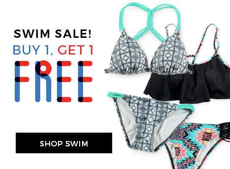 BOGO Free Women's Swimwear