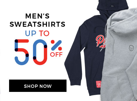 Up to 50% off Men's Sweatshirt