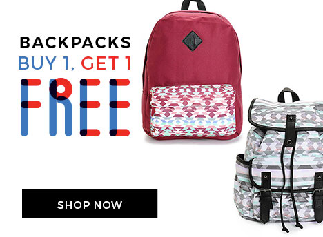 BOGO Free Backpacks