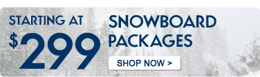 2012 Snowboard Packages Starting at $299