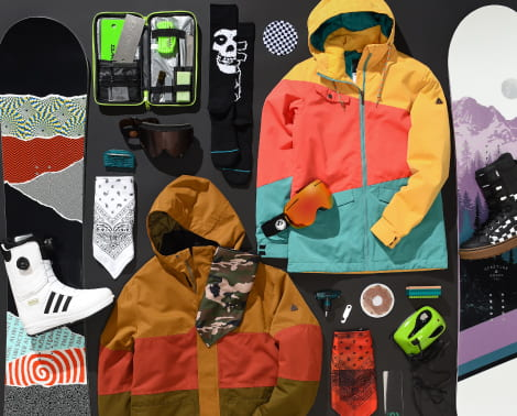 Shop snow gifts like snowboards, jackets, snow accessories and more in the 2018 Holiday Gift Guide.