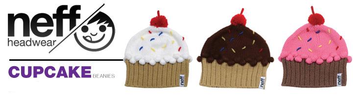 f508e65a7012b Neff Cupcakes Beanies