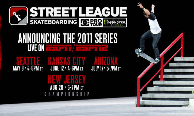 Where to watch Street League!