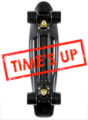 Penny Skateboards LTD Black & Gold Penny Cruiser Complete