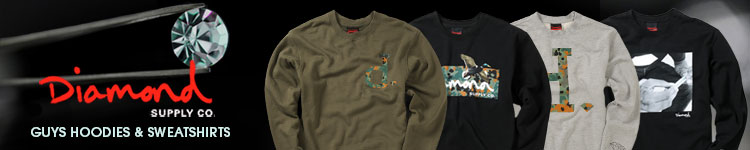Diamond Supply Hoodies and Sweatshirts