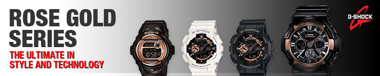 Rose Gold Series G-Shock Watches