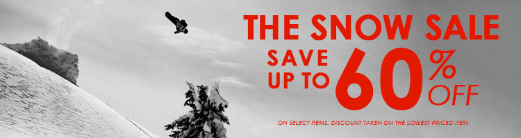 The Snow Sale - Save Up To 60%