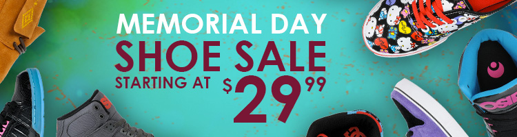 Memorial Day Shoes Sale - Starting at $29.99
