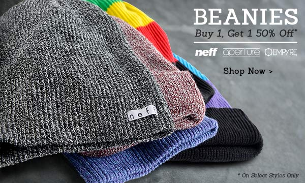 Beanies BOGO 50% Off - Shop Now
