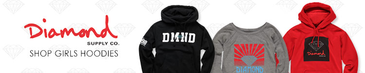 Diamond Supply Girls Hoodies