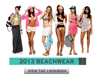 2013 Women's Beachwear Lookbook
