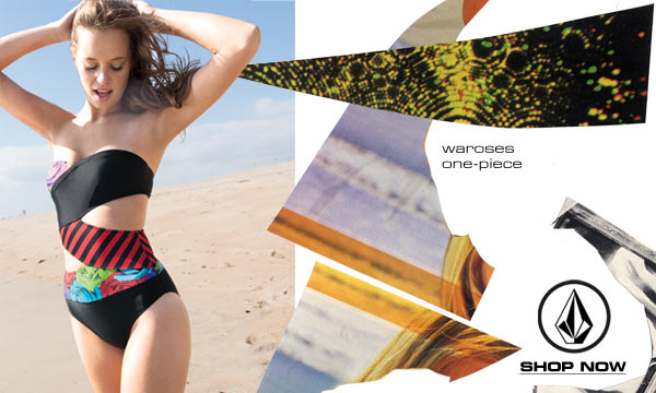Girls swimwear from Volcom