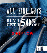 All Zine Guys Buy 1 Get 1 50% Off