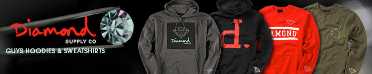 Diamond Supply Guys Hoodies
