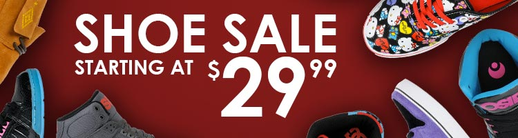 Shoes Sale - Starting at $29.99