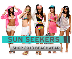 Girls Beachwear Lookbook