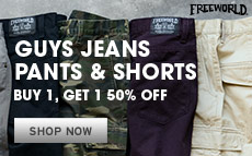 Jeans Pants Shorts BOGO 50