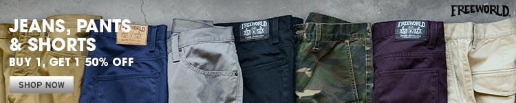 Freeworld Jeans, Pants, and Shorts BOGO 50